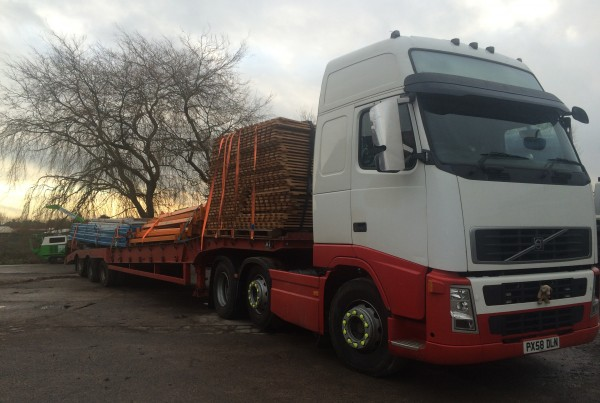 low loader hire cardiff